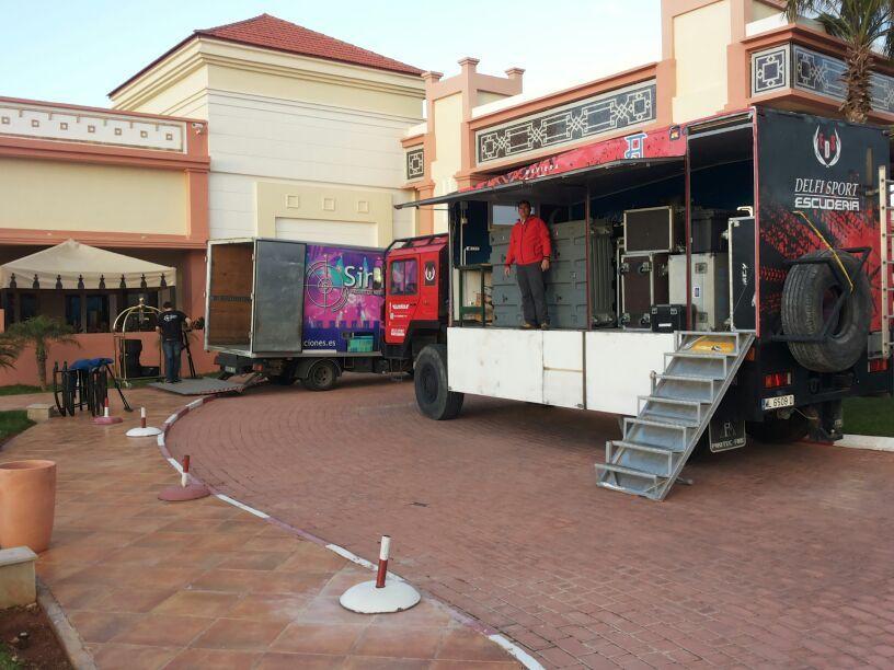 camiones saidia festival