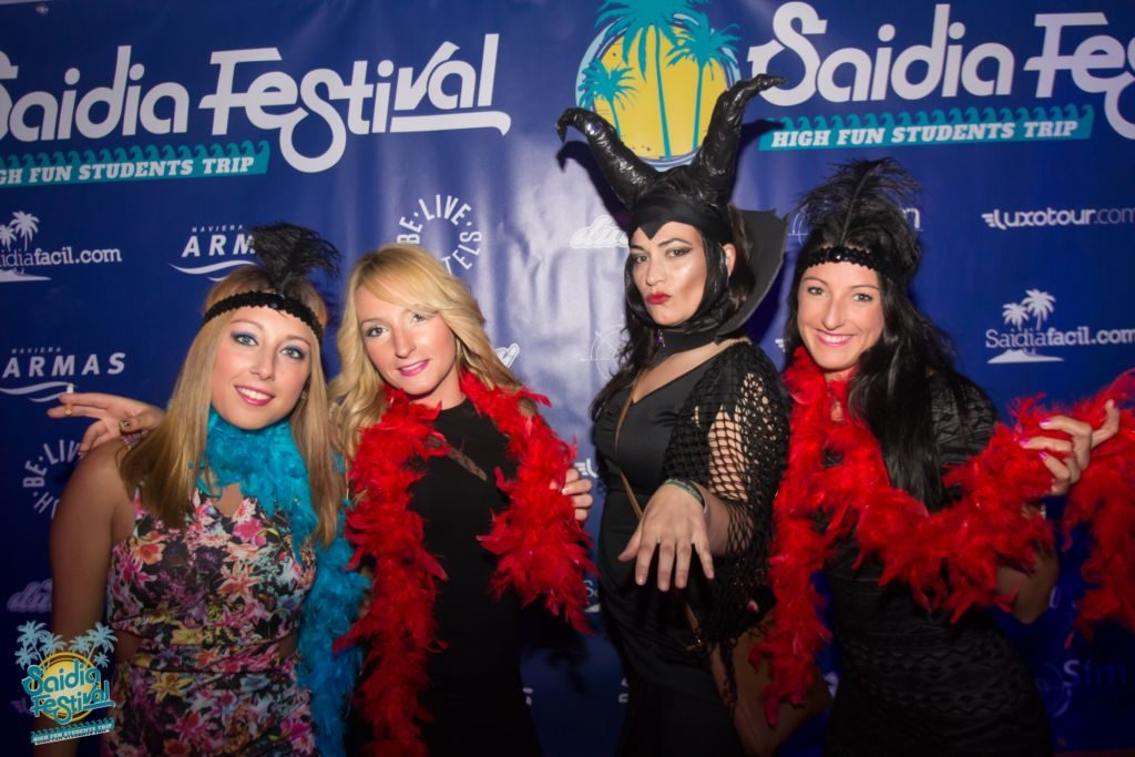 Fiestas temáticas Saidia festival